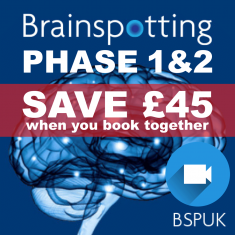Brainspotting Phase 1  Online & Phase 2 Online/London Training Package